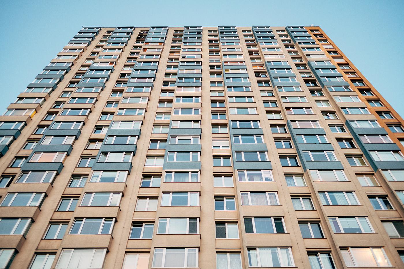 neighbourhood postcommunism architecture fashionstory Czech Republic Urban concrete