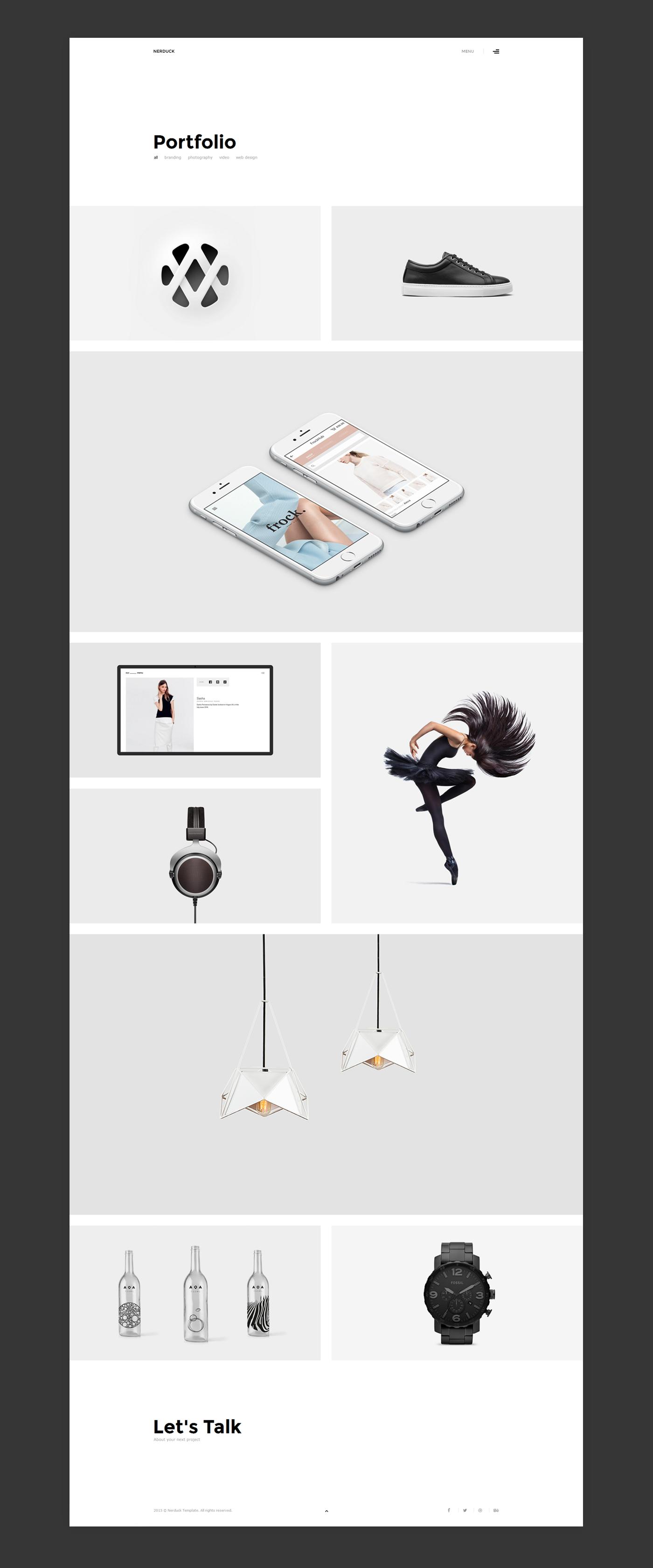 how to make a digital portfolio for graphic design