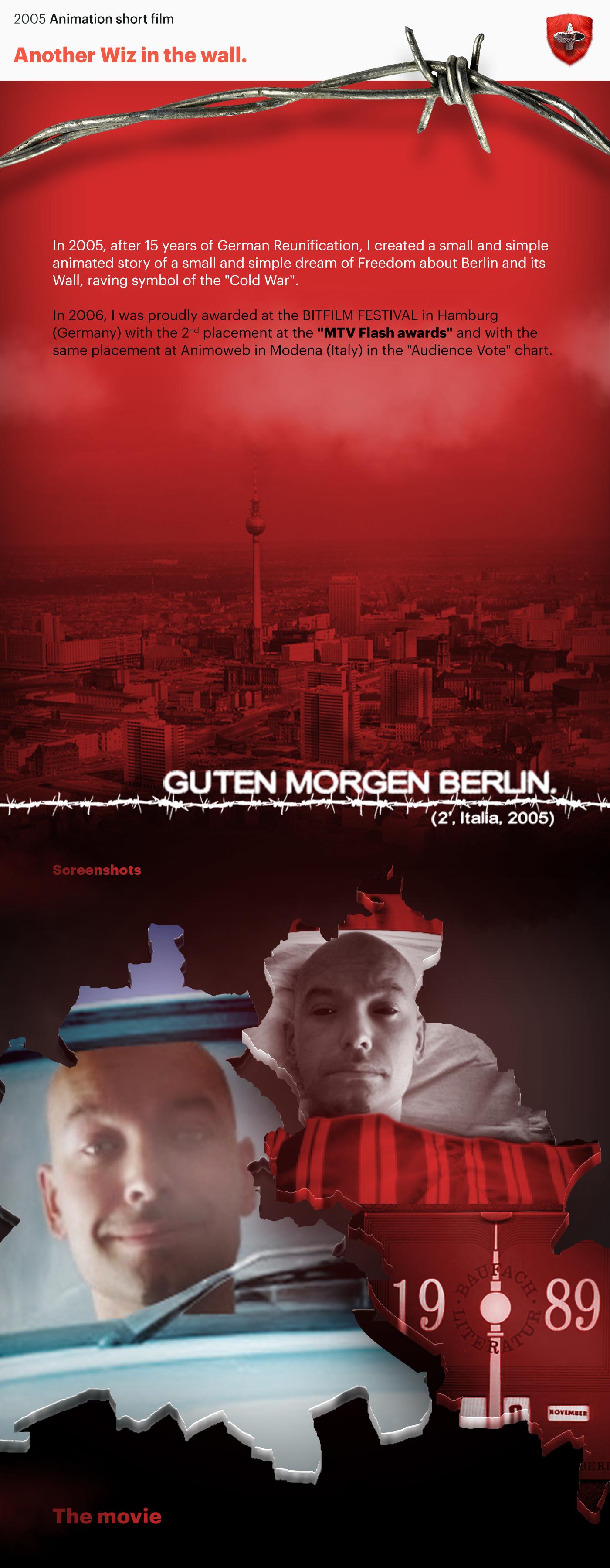 berlin,wall,shortfilm,2D Animation,motion graphic,Photo Manipulation ,Mtv,Bitfilm Festival