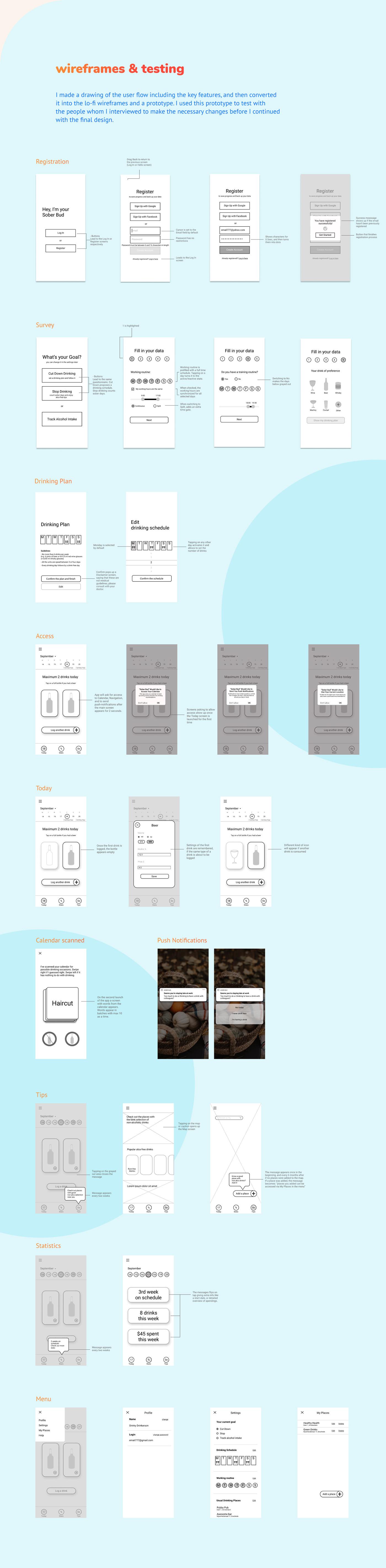 ux UI design Case Study UX Case Study UX Research