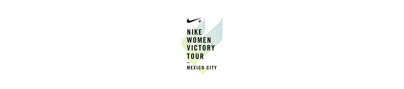 Nike video victory tour running woman mexico CDMX flock