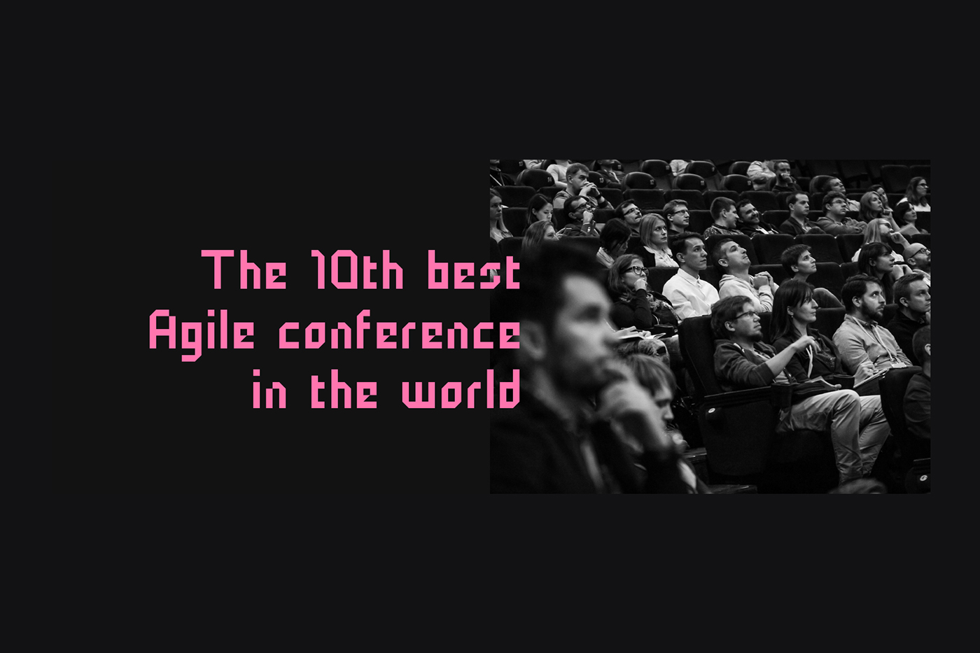 conference brand identity conference identity typography   Web Design  Responsive Agile managment IT coding