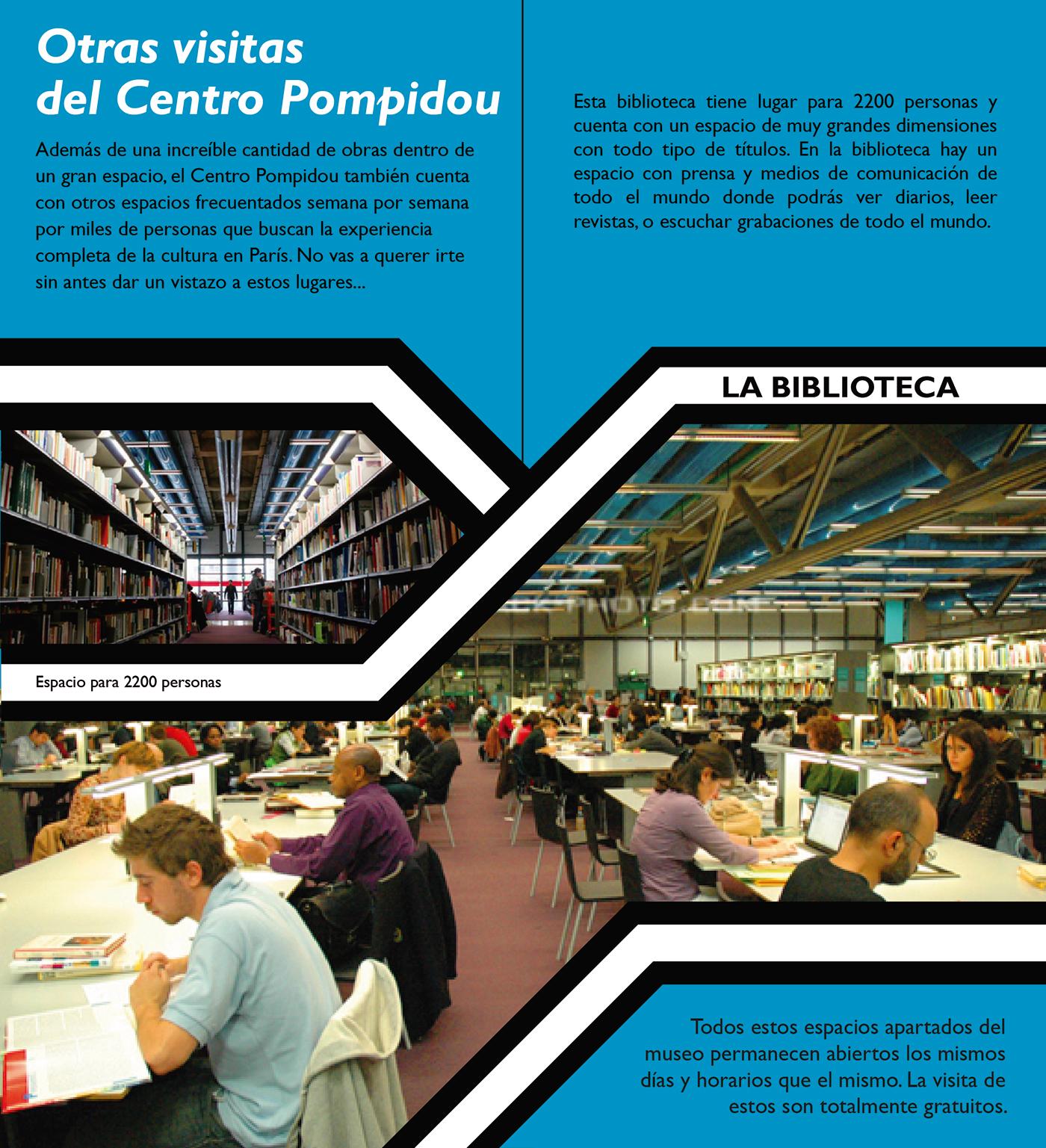 Museo Pompidou.Folleto Museo Pompidou On Behance
