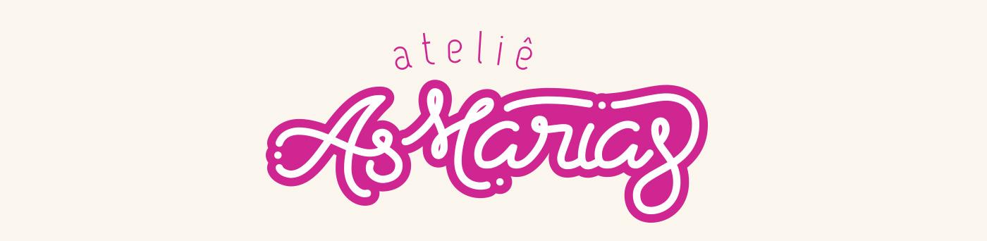 ateliê logo marca as marias bebes roupas Ecommerce tag Estrelas star