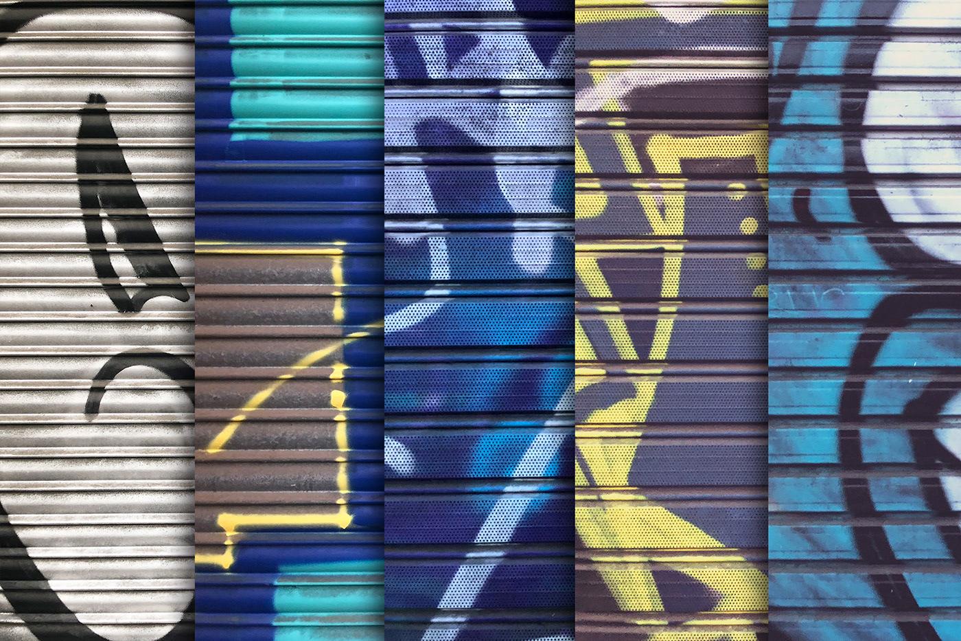 background city color door garage grafitti Pack photo Street texture