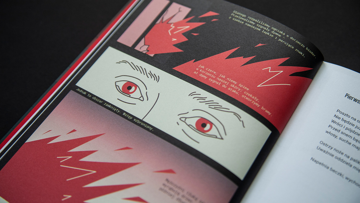 animation  artur denys book comic Comic Book Comic Illustration design ILLUSTRATION  Poetry  polish illustration