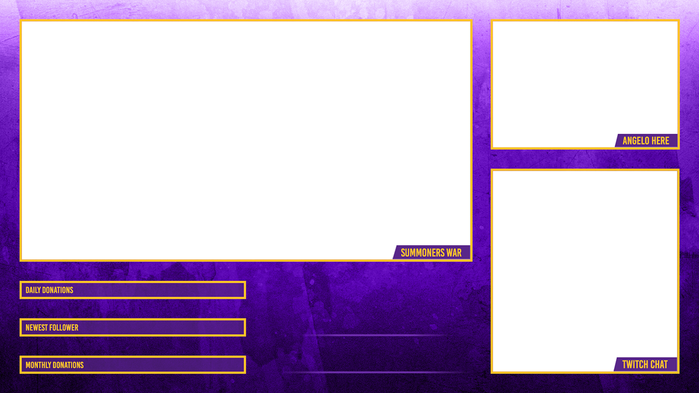 Twitch Overlay And Panels On Behance