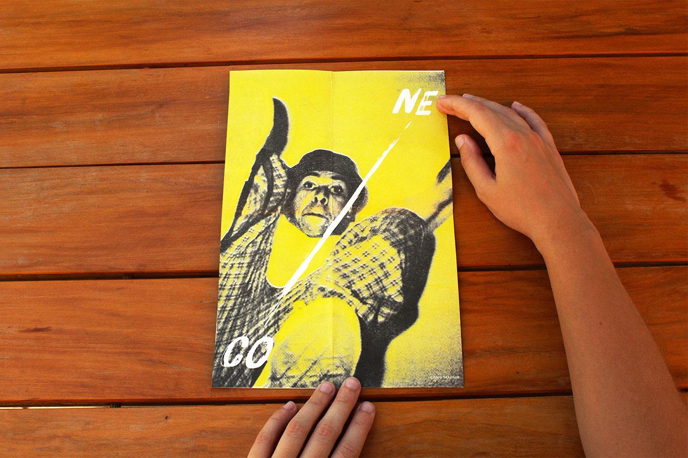 Riso risograph risografia cartaz poster musica music risograph printing folder