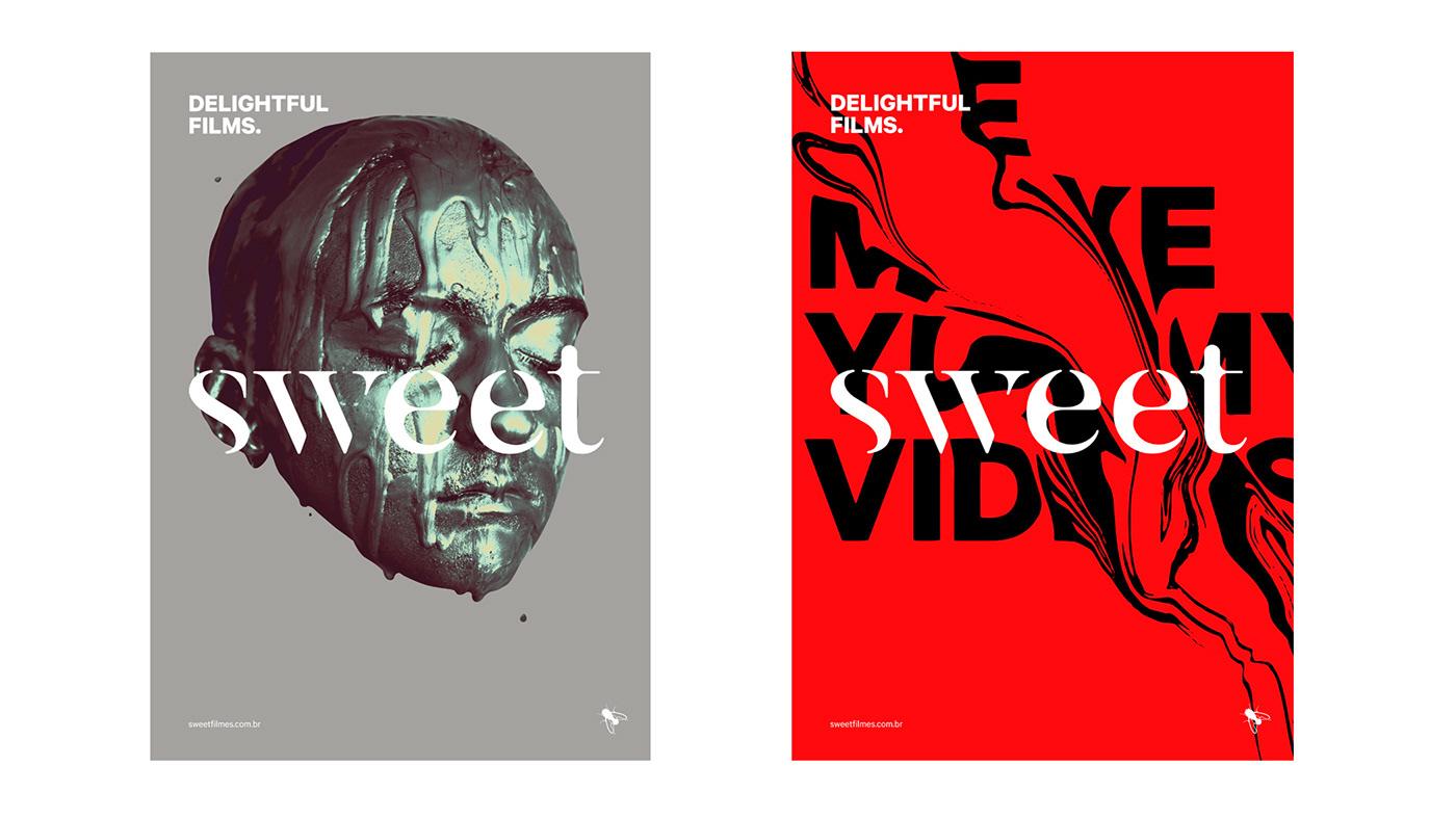 Fresh New Brand Identity for Sweet Films