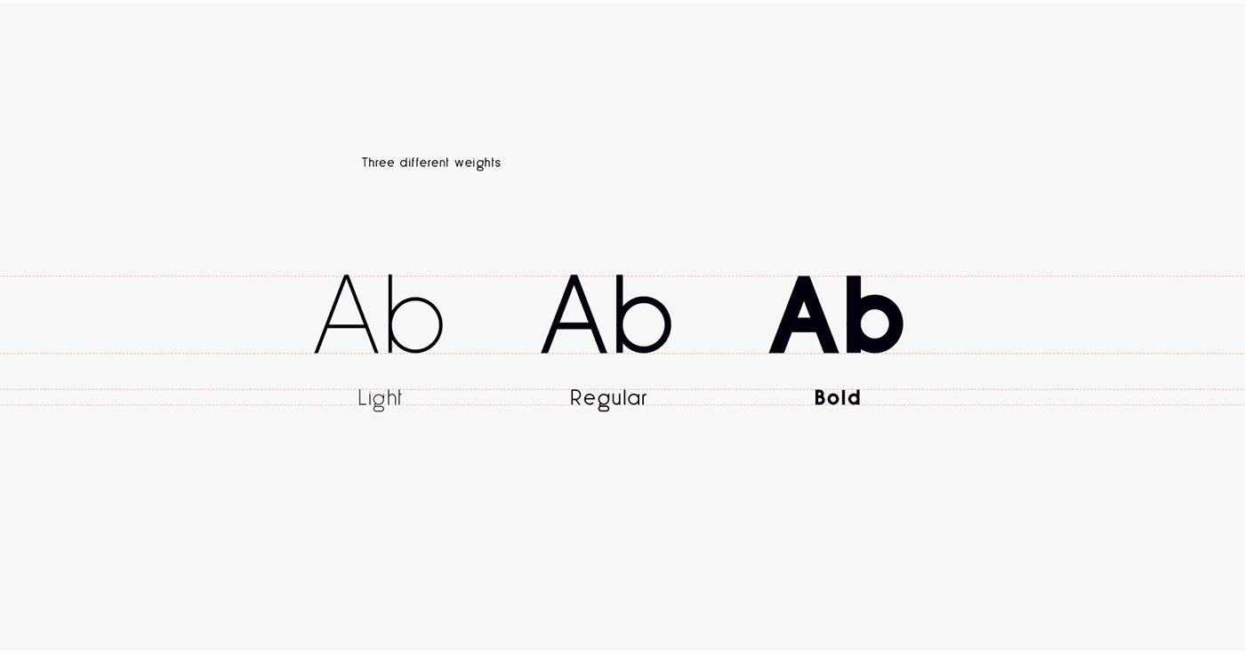 free freebie Typeface font download design less sans minimal