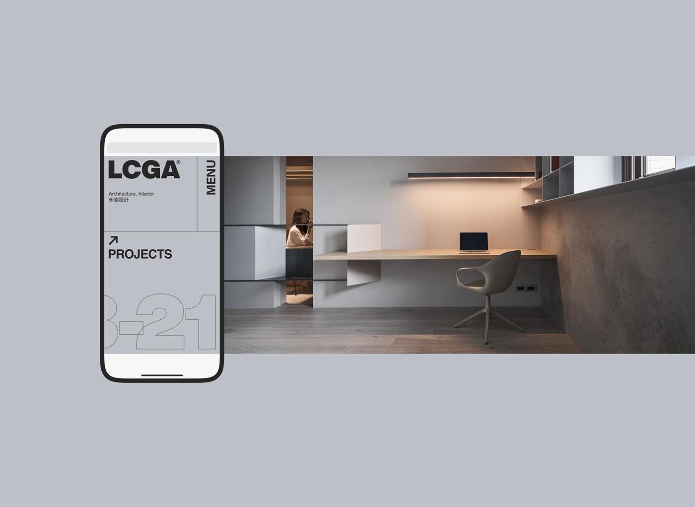 architecture branding  clean identity Interior Layout Minimalism modern typography   Website