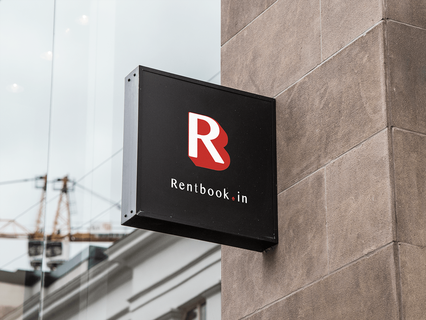 portfolio rentbook design development logo designing graphic designing