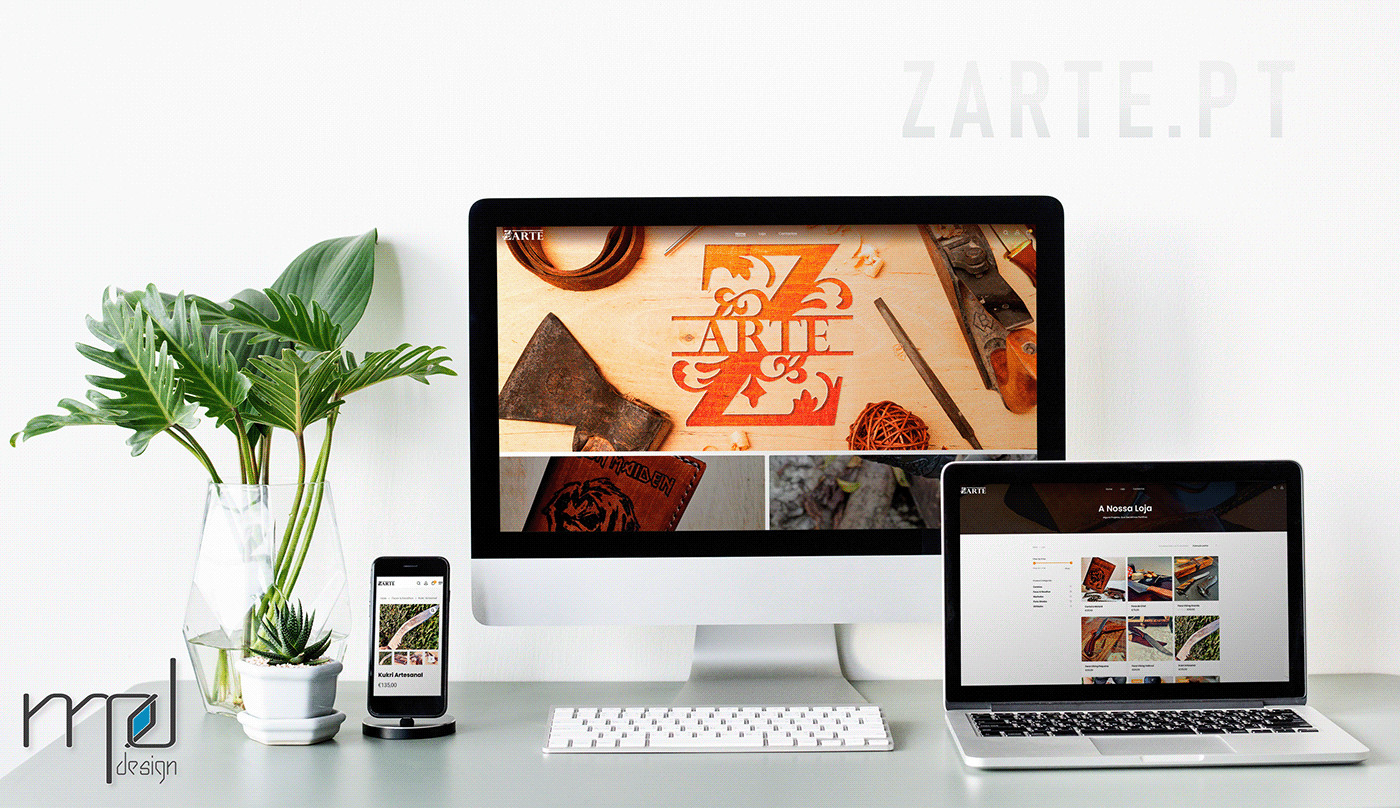 MPdesign Web Design  zarte