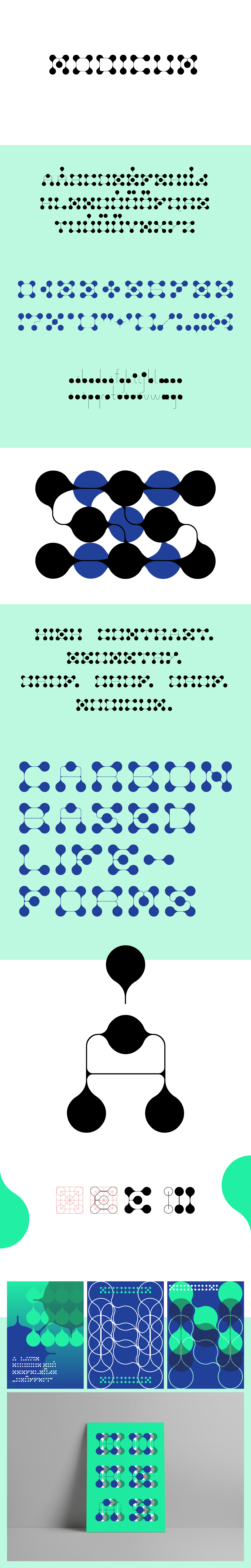 font Display geometry typography