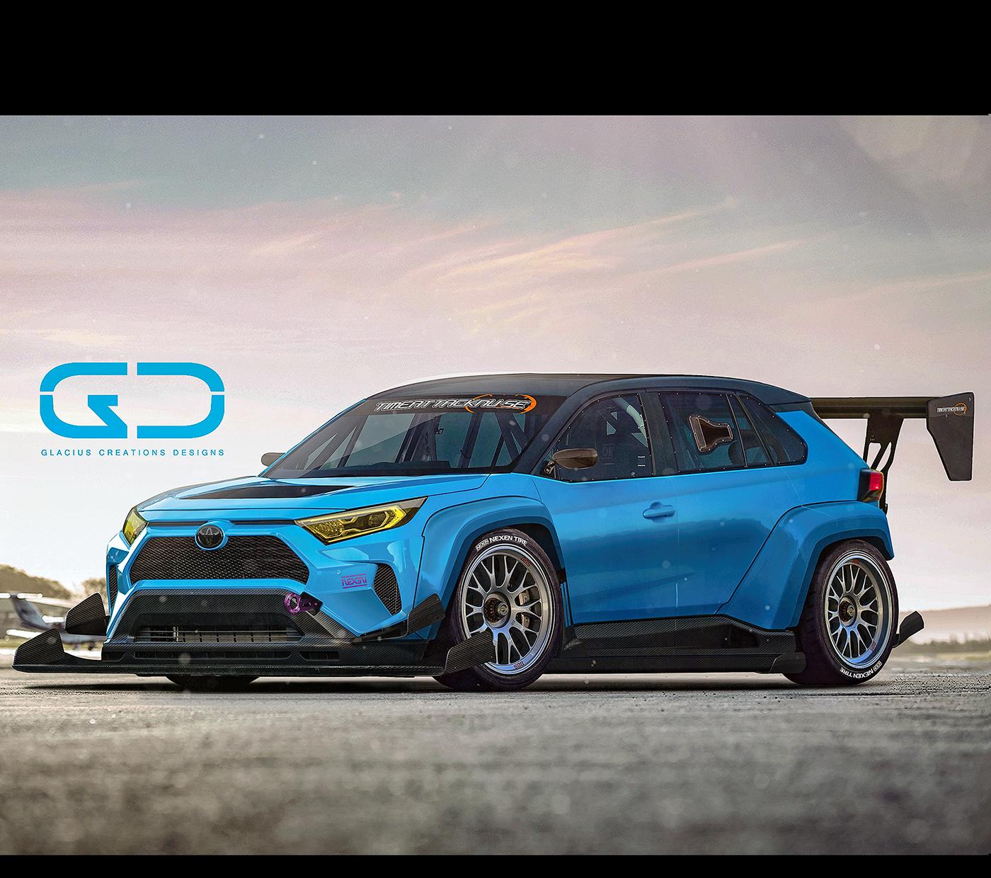 2019 Toyota Rav4: 2019 Toyota Rav4 / Aasbo / TRD / Timeattack.se On Behance