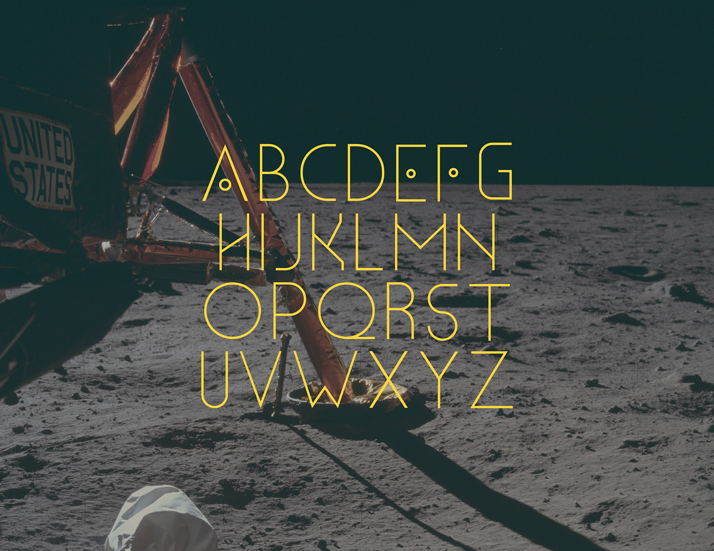 Constellations type Typeface free font geometric minimal modern alternative Space  galaxy Apollo Free font cassiopeia