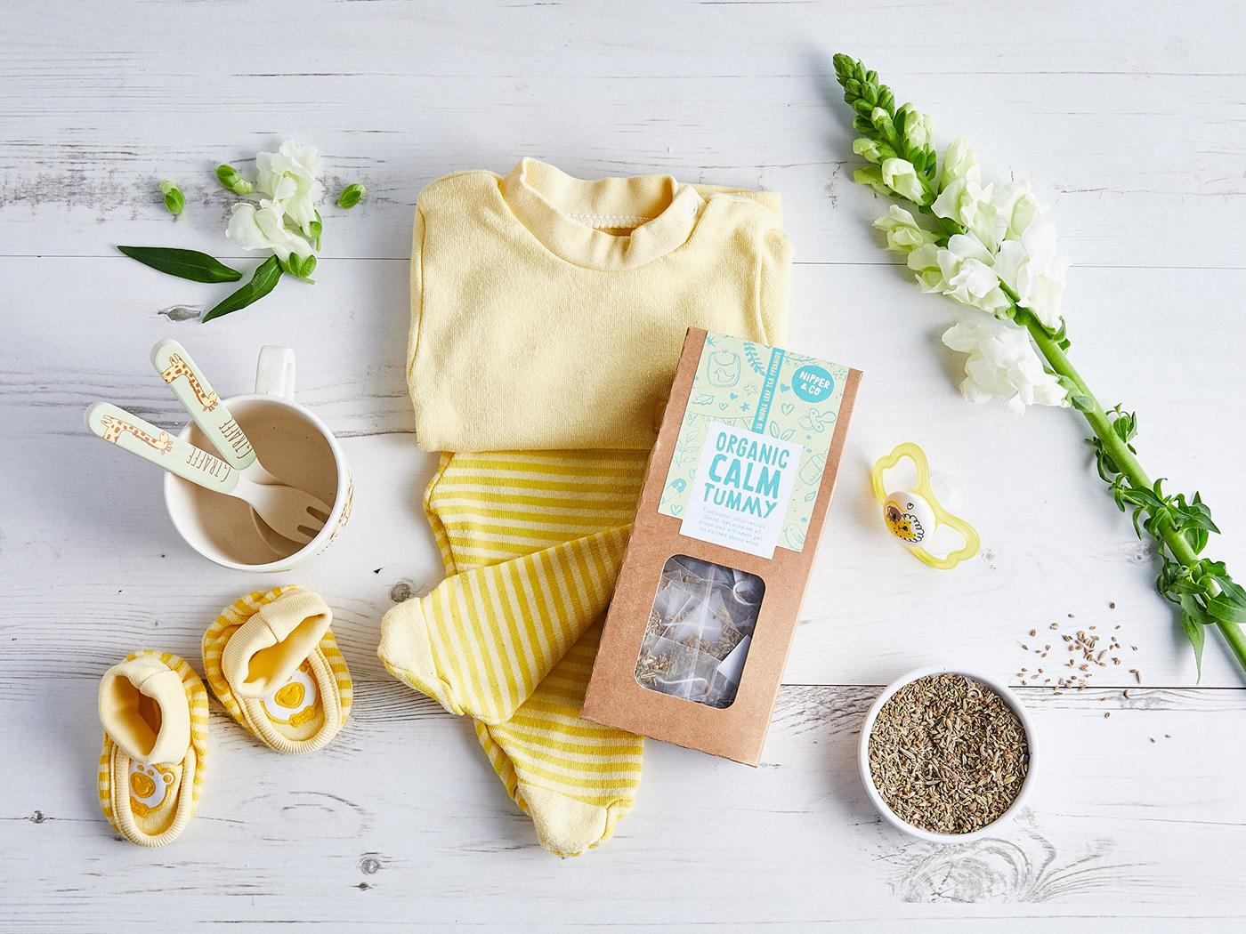 brand Packaging hand-lettering hand-drawn tea organic Ethical vegan branding
