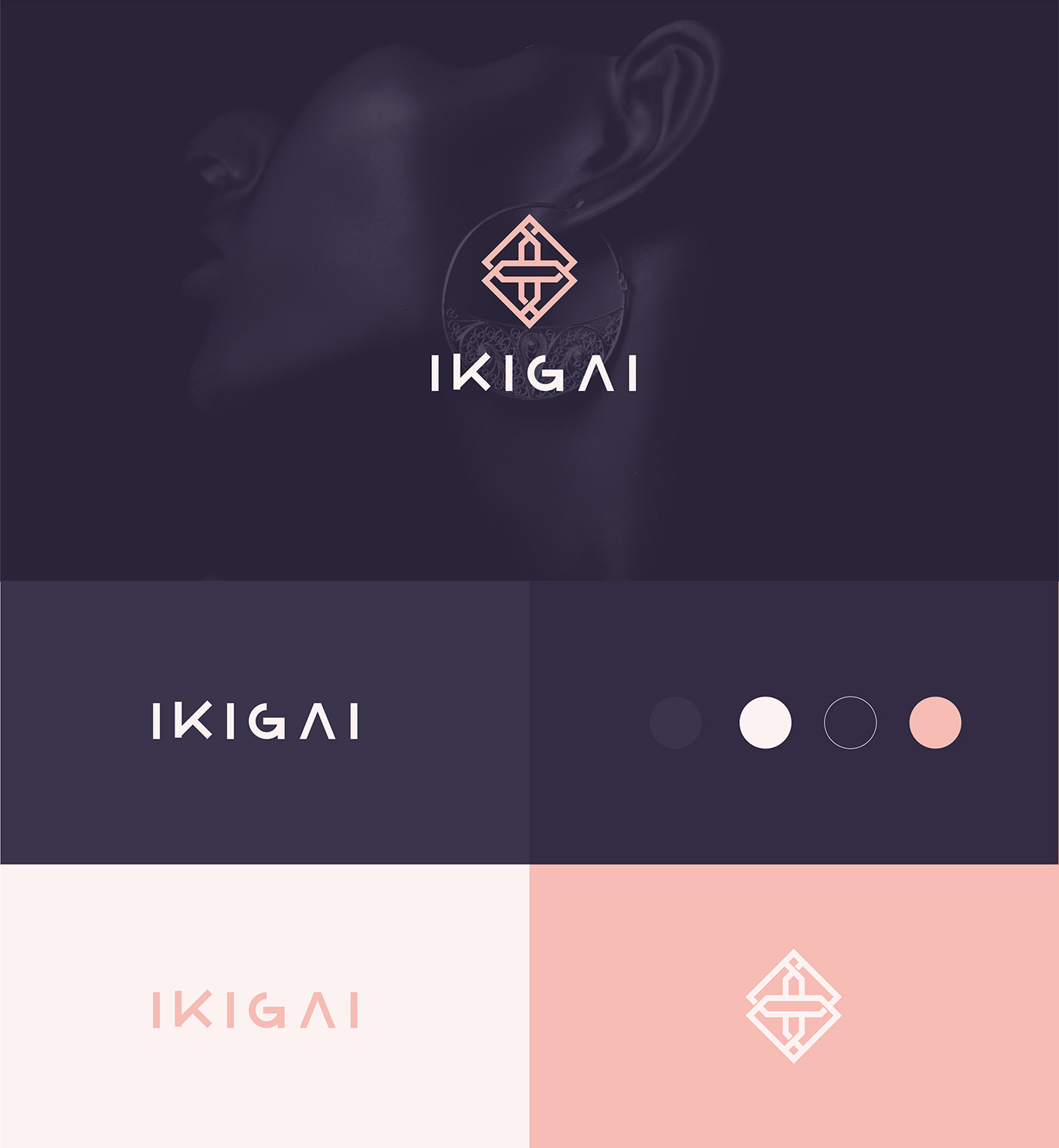 fashion logo for company have jewelry design and sell it online