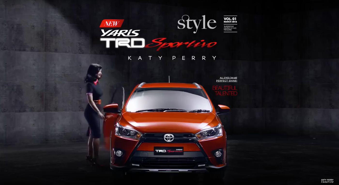 Toyota Of Katy >> Toyota Yaris Katy Perry On Behance