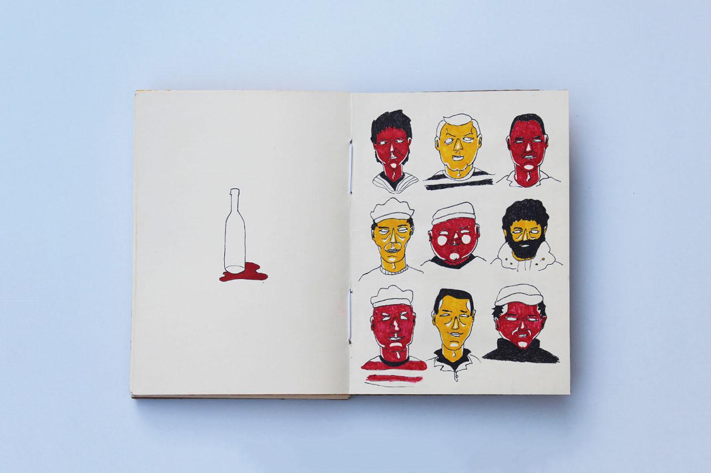 Sailor marujo drunken sailor livro ilustrado Illustrated book Sea Shanty celeuma música popular drunk sea