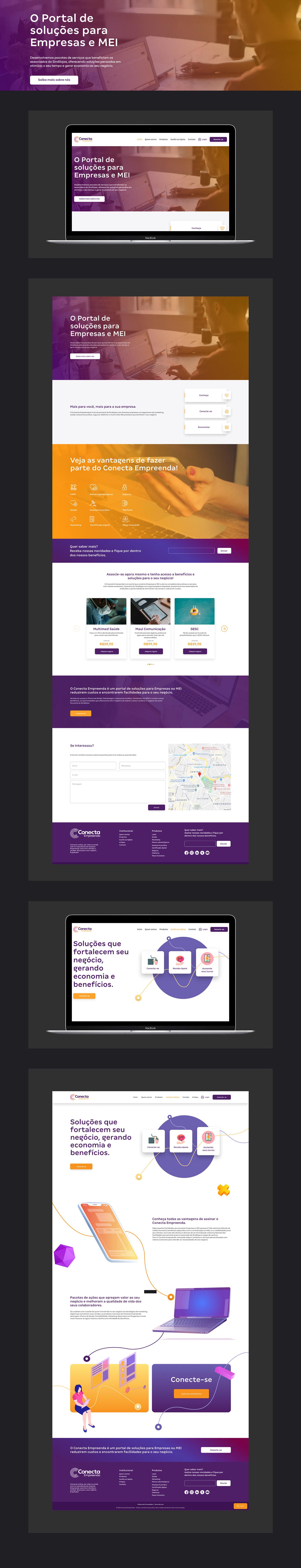 identidade visual Website