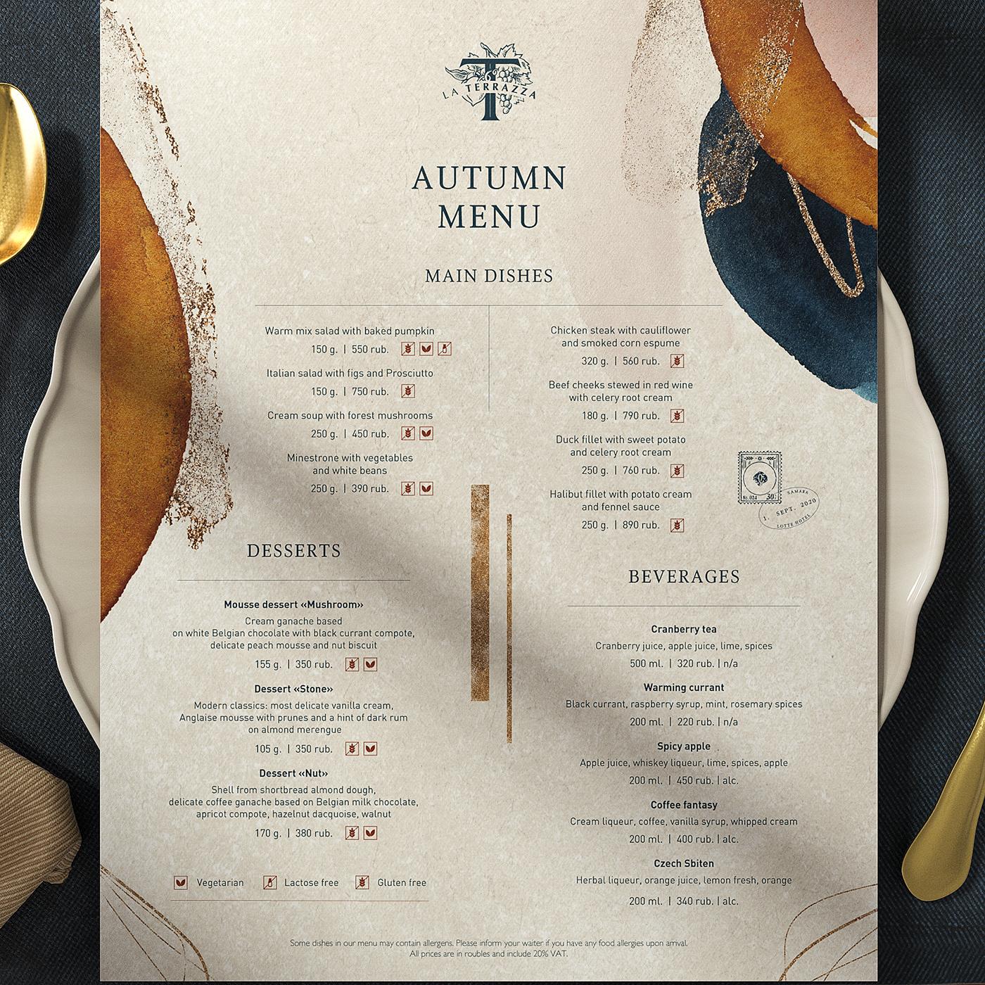 food menu menu menudesign restaurant menu