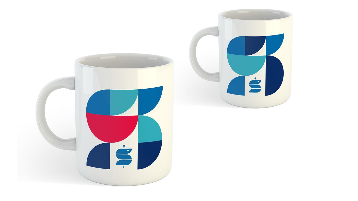 SANA klinik Health hospital identity branding