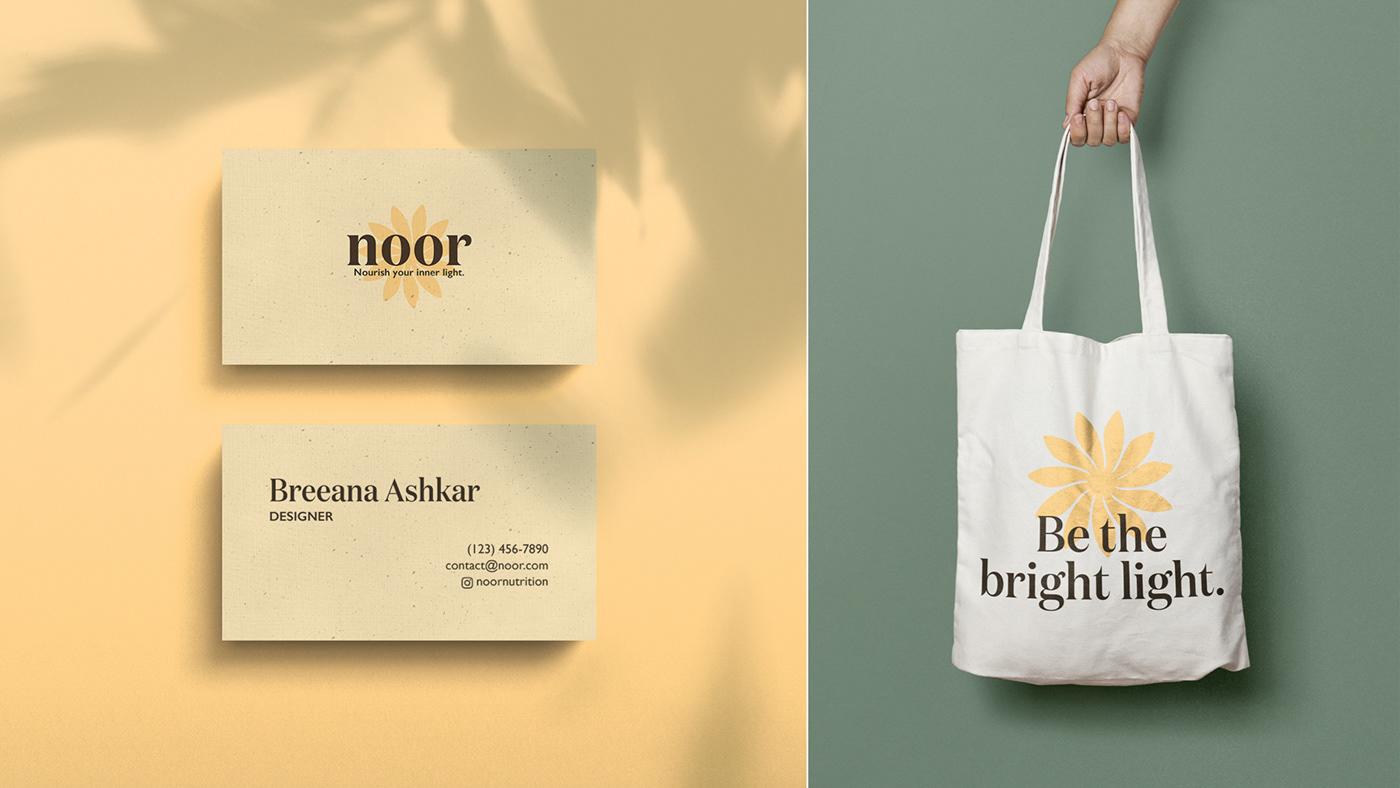 branding  branding kit logo Logo Design multivitamin noor vitamins ashwagandha Wellness product design