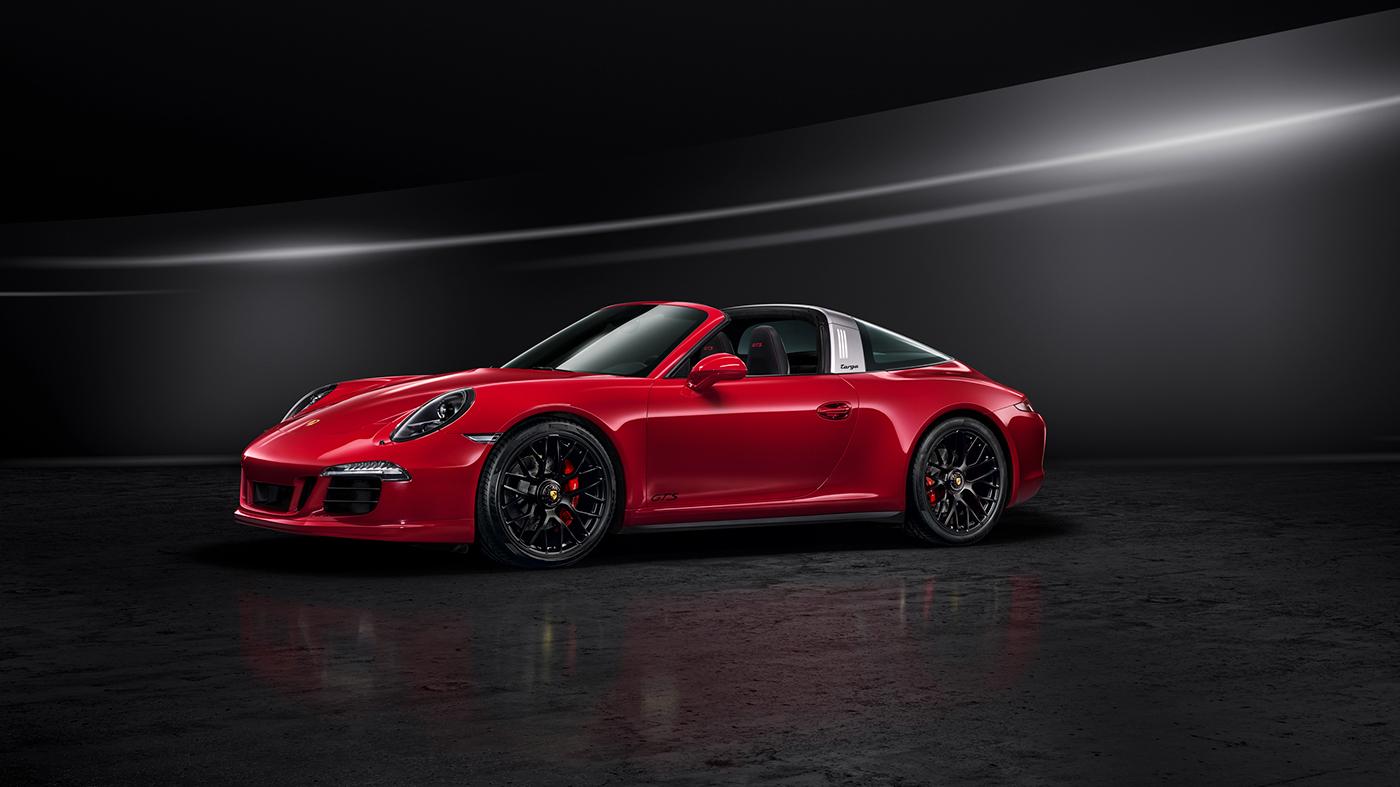 Porsche 911 Targa 4 Gts On Behance