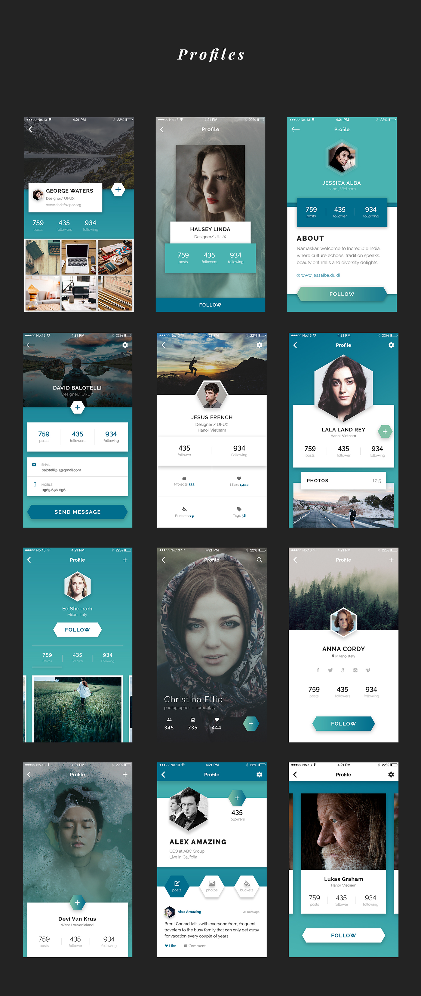 Jok Mobile UI Kit - 4