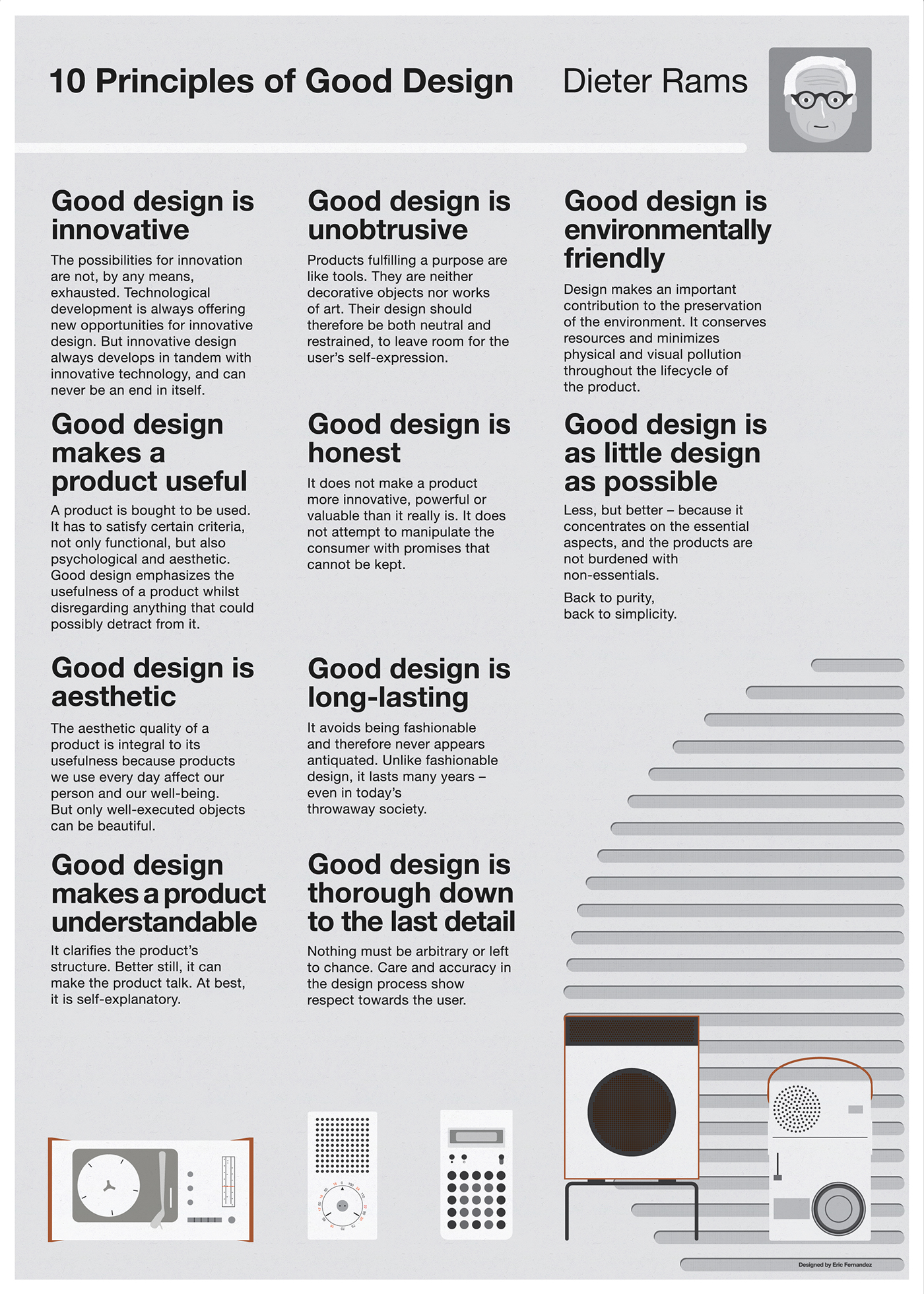 10 Principles Of Good Design On Behance