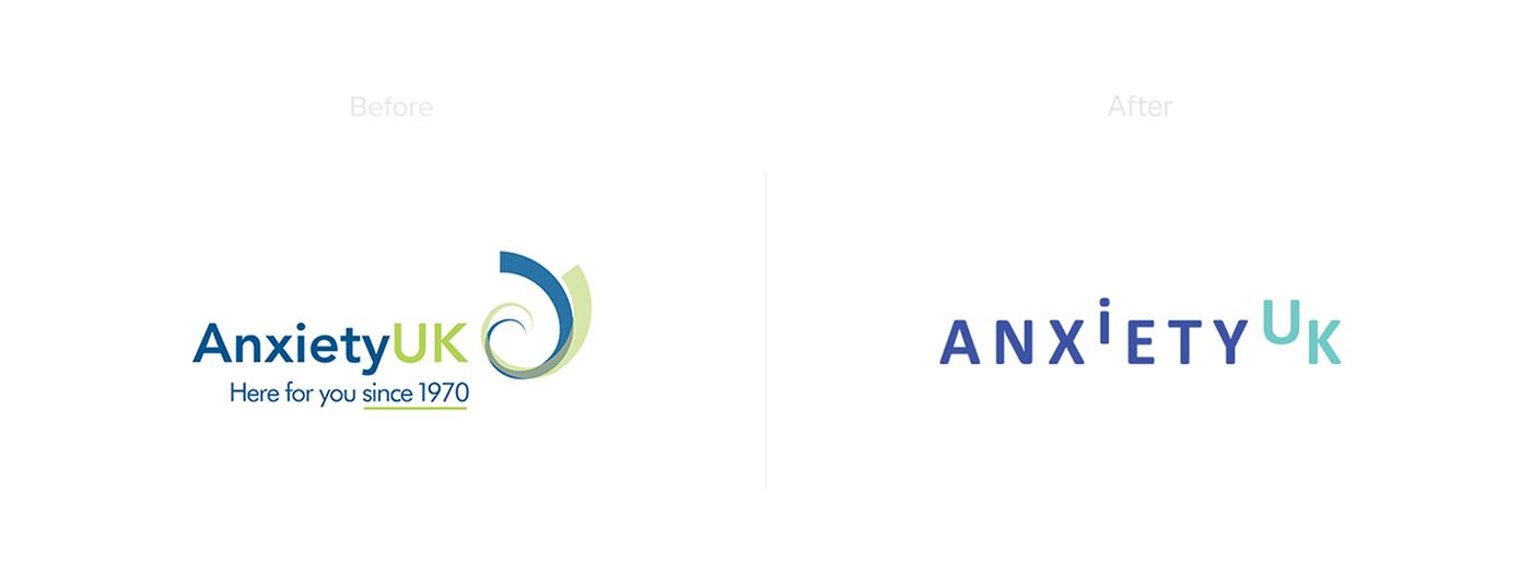 adobeawards brand logo Photography  mental health branding  anxiety graphic design  identity #madewithAdobeXD