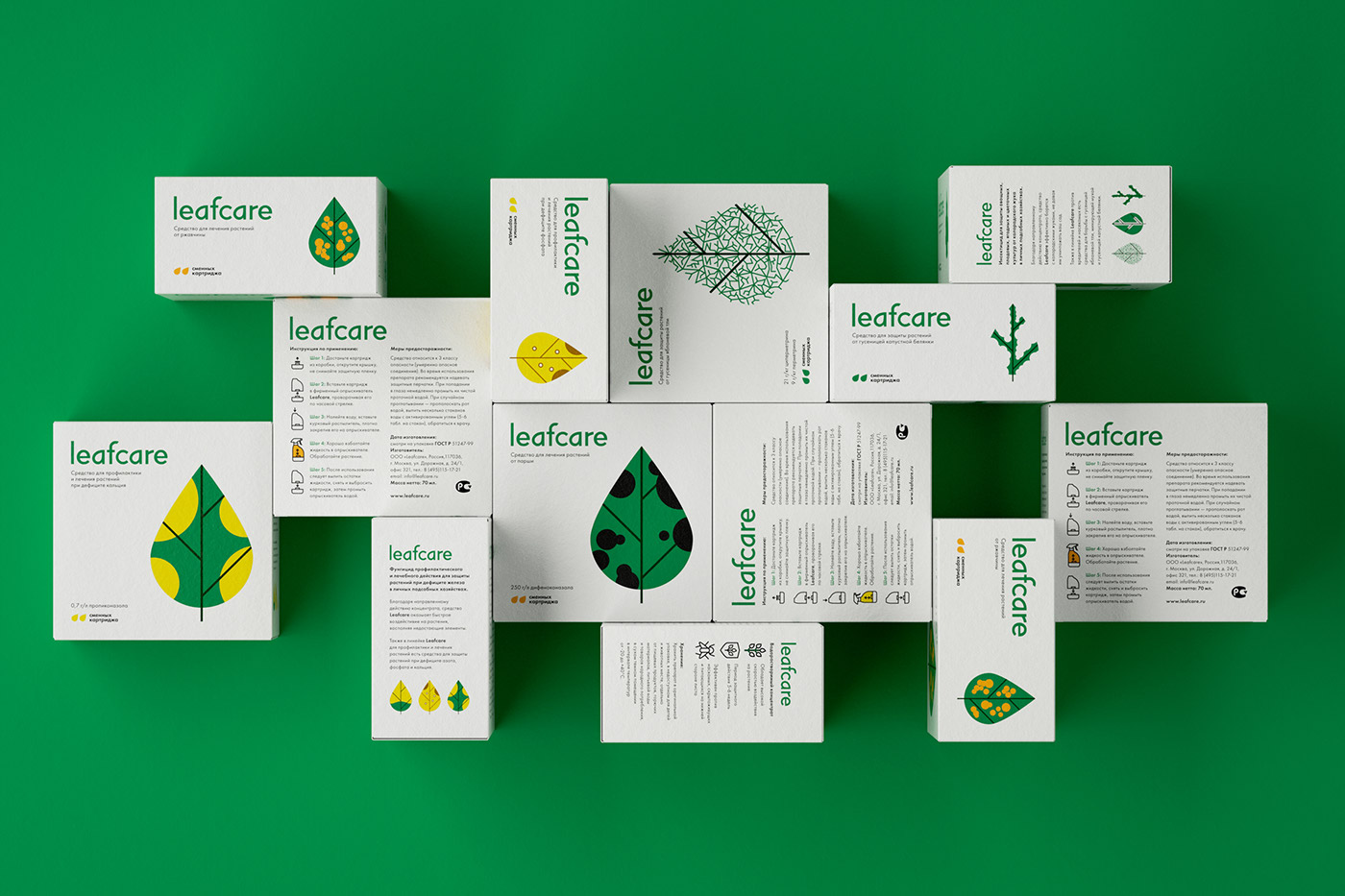 Packaging leaf Insects bugs branding  killer innovation insect garden concept