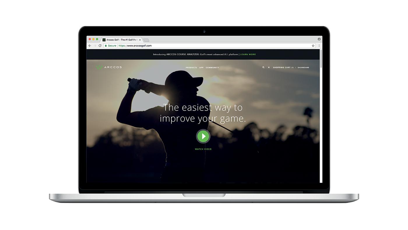 art direction  Art Director graphic design  golf Startup Advertising  marketing   senior designer Trade Show