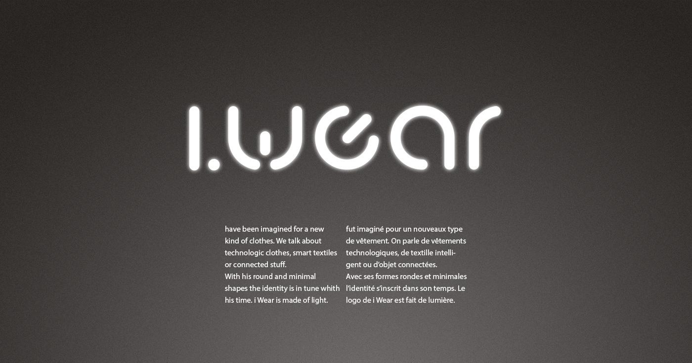 wear clothes technologic light