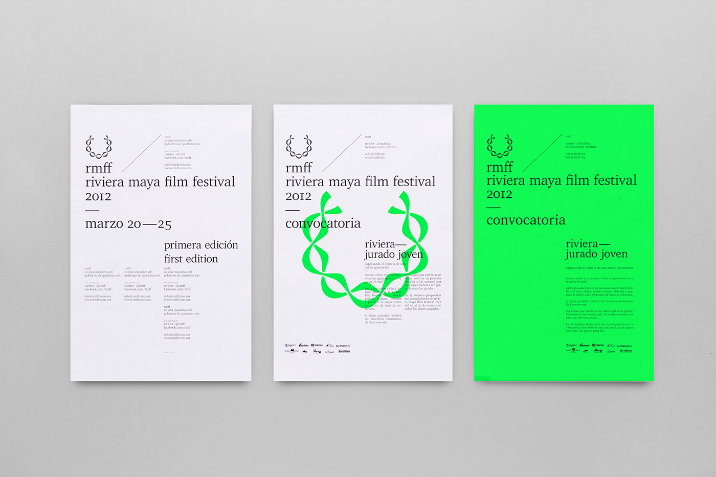 Poster Design: We Love Posters by Anagrama Studio