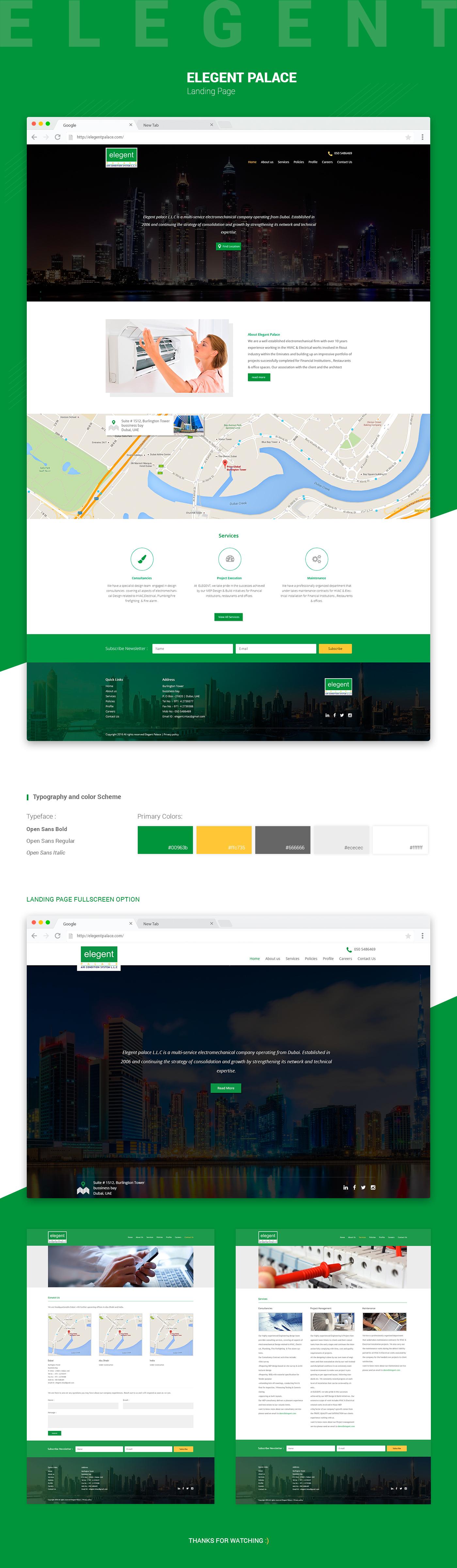 Website Design UI UX design Front end development interface design
