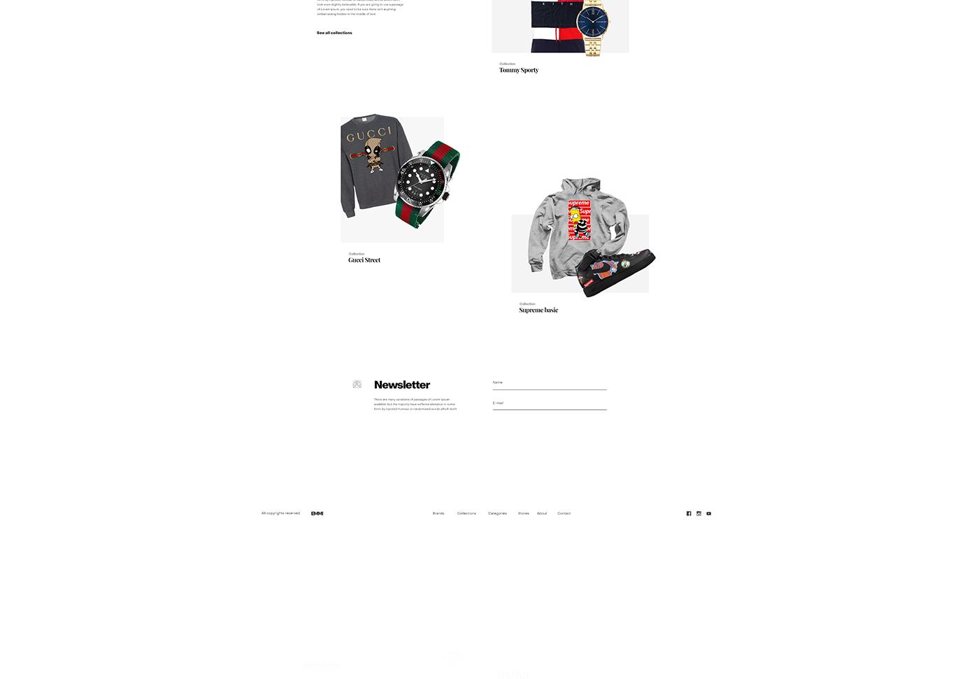 Webdesign,3D,branding ,concept,gold,UI,ux,mobile,modern,skate