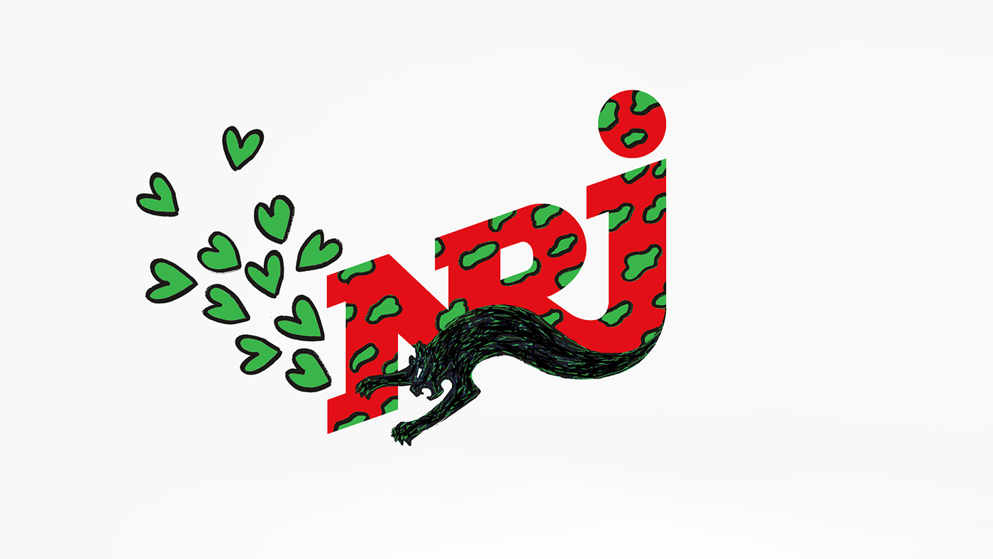 animation  bieber Radio tv Spot Drawing  dog heart music advert