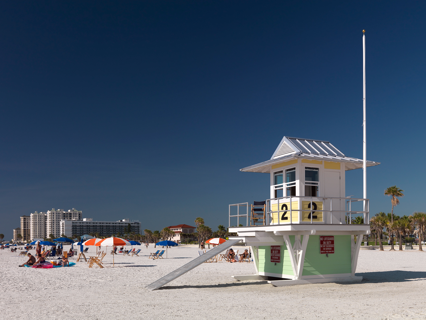 Sp 26 Clearwater Beach Lifeguard Towers On Behance