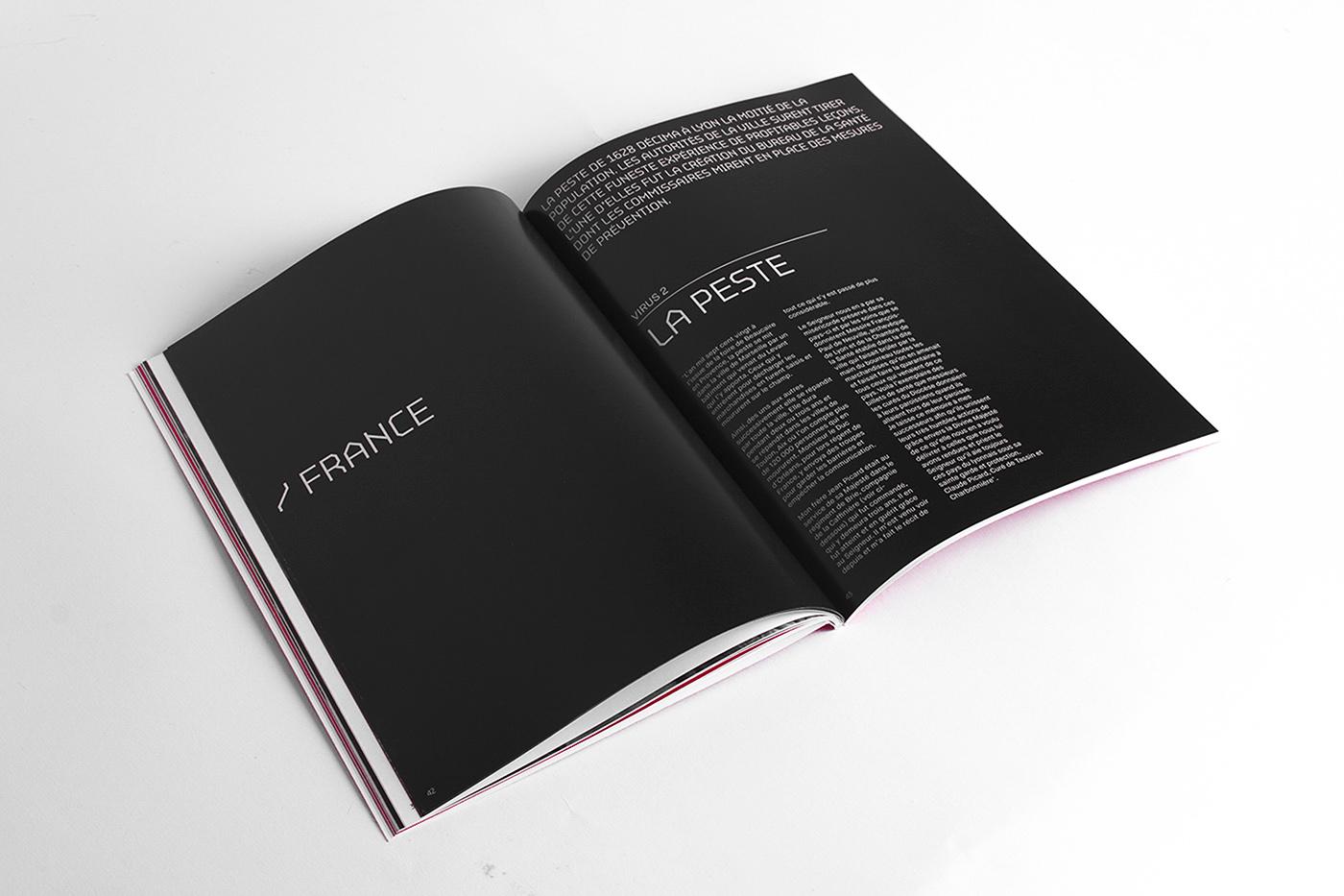 penninghen datavisualisation red color pantone book Logotype plexiglass