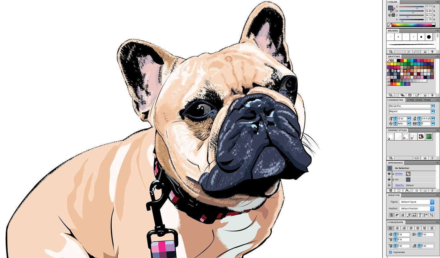 Image may contain: dog, sketch and cartoon