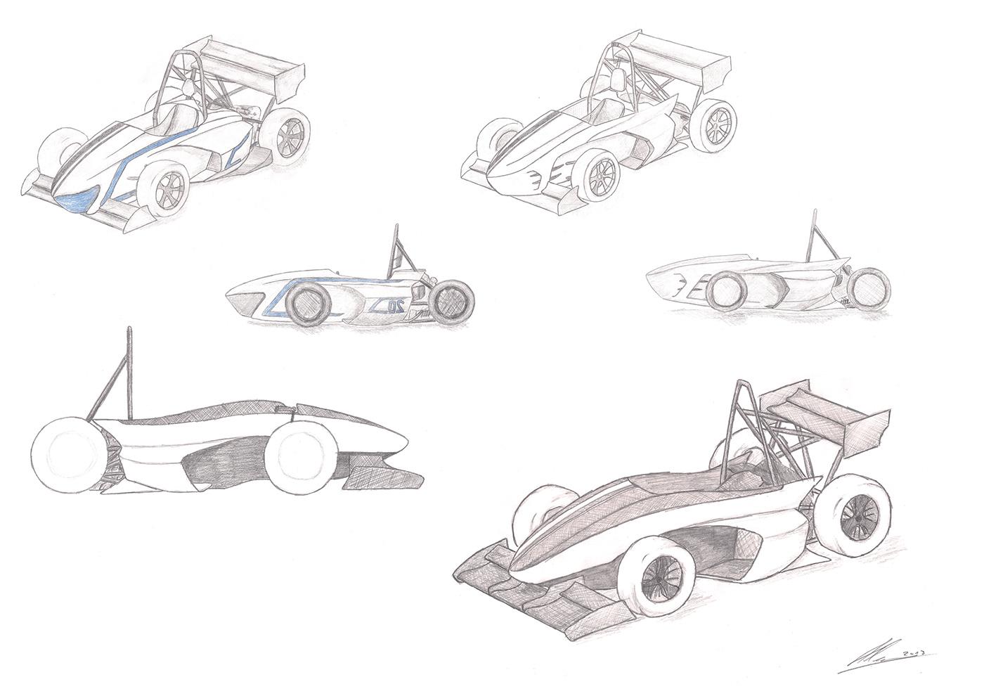 formula student uni maribor gpe13 Racing Racing Car f1 racecar