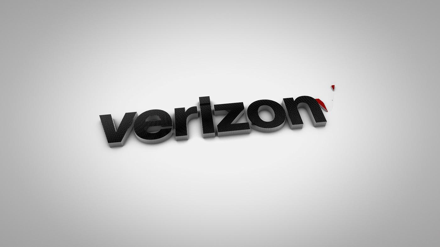 Verizon Rebranding on Behance