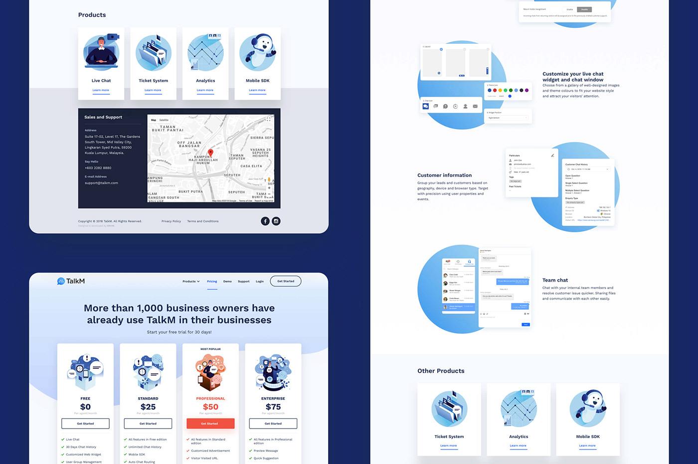 Kervin Tan krvin Intercom zendesk live chat landing page CRM analytics support mobile