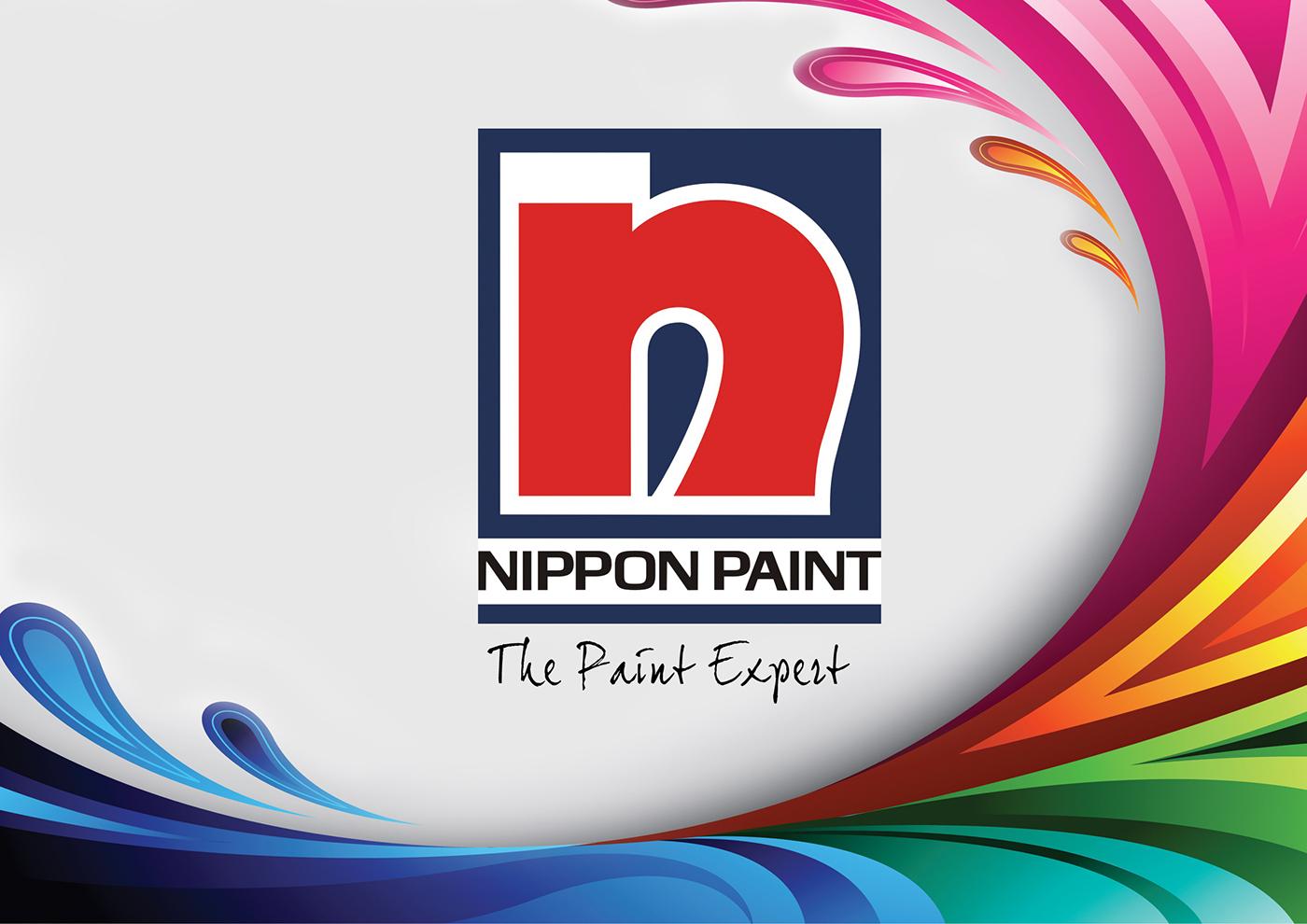 catalog book design  nippon paint  on behance