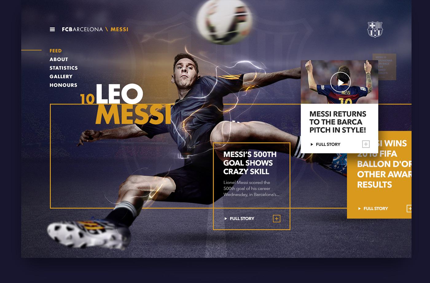 FC Barcelona Design Concept