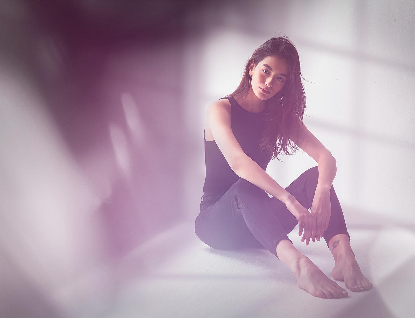 editorial Fashion  lighting model portrait retouching  studio