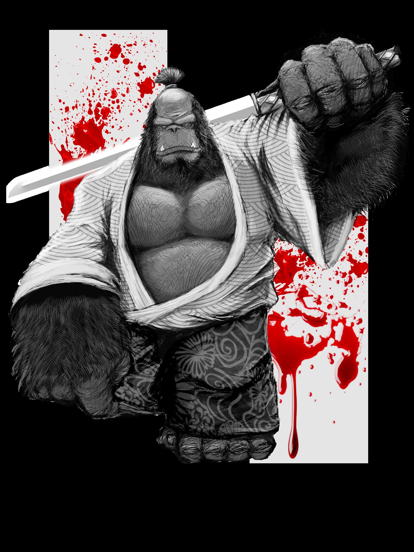 gstatus gorilla bushido on behance