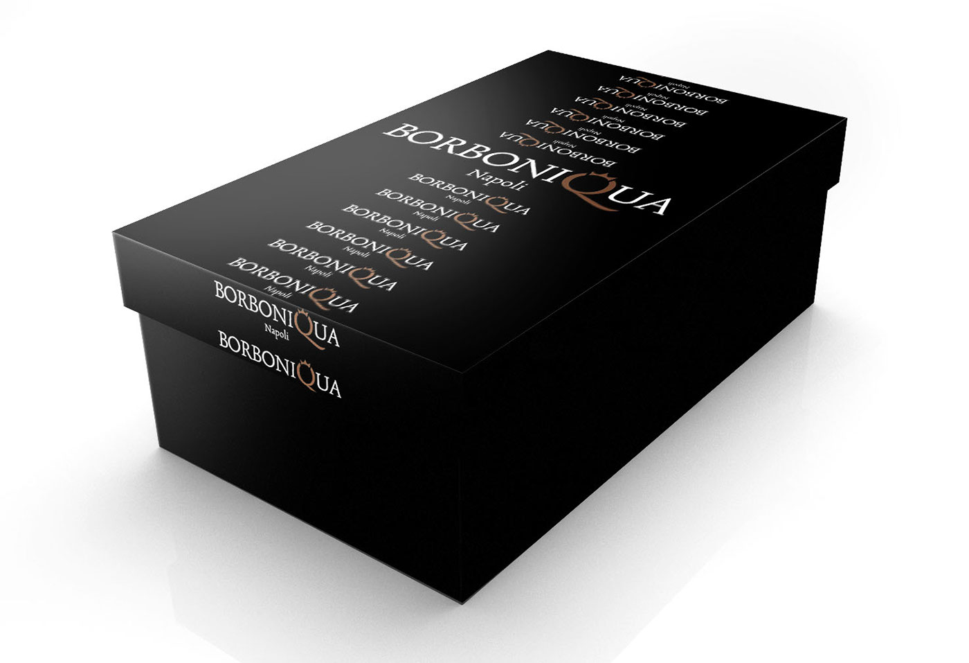 Packaging shoes jewels black scarpe scatole gioielli